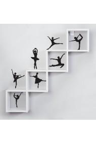 Sticker decorativ de perete Sticky 260CKY5063 Negru
