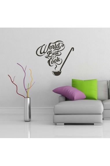 Sticker decorativ de perete Sticky 260CKY5078 Negru