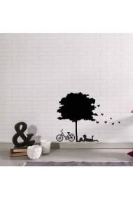 Sticker decorativ de perete Sticky 260CKY1018 Negru