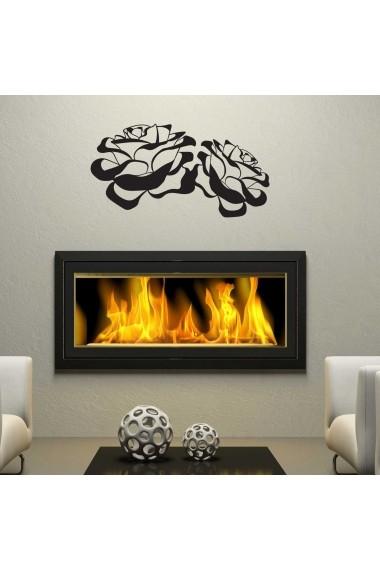 Sticker decorativ de perete Sticky 260CKY1027 Negru