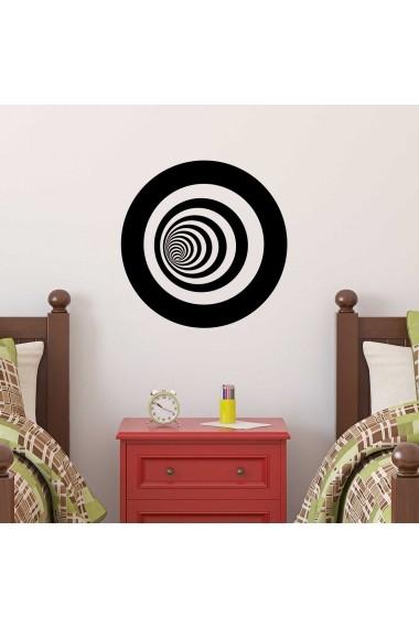 Sticker decorativ de perete Sticky 260CKY1028 Negru
