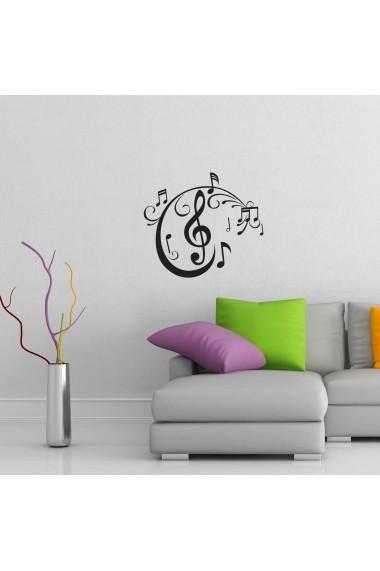 Sticker decorativ de perete Sticky 260CKY1055 Negru