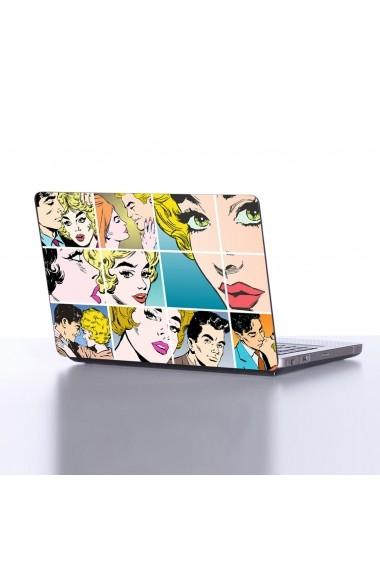 Sticker decorativ pentru laptop Sticky 837EVL1151 Multicolor