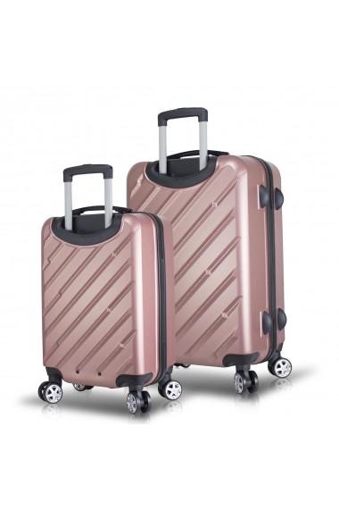 Set 2 trolere Myvalice 853MYV4081 roz