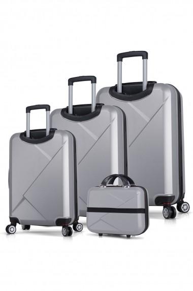 Set 4 trolere Myvalice 853MYV4144 gri