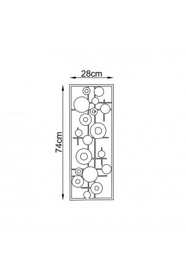 Accesoriu decorativ din metal Tanelorn 891TNL1837 multicolor