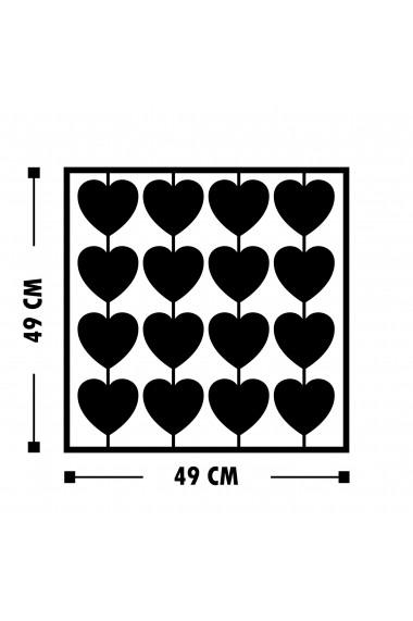 Accesoriu decorativ din metal Tanelorn 891TNL1822 negru