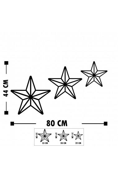 Accesoriu decorativ din metal Tanelorn 891TNL1829 negru