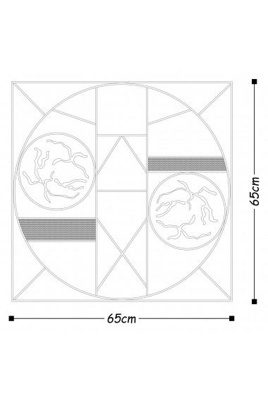 Accesoriu decorativ din metal Tanelorn 891TNL1805 multicolor