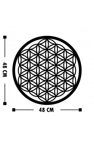 Accesoriu decorativ din metal Tanelorn 891TNL1747 negru