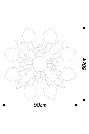 Accesoriu decorativ din metal Tanelorn 891TNL1795 multicolor
