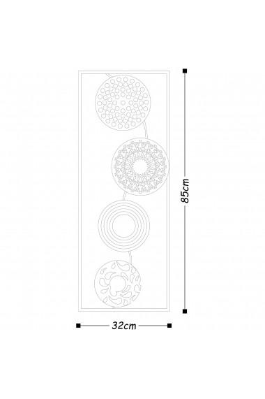 Accesoriu decorativ din metal Tanelorn 891TNL1804 multicolor