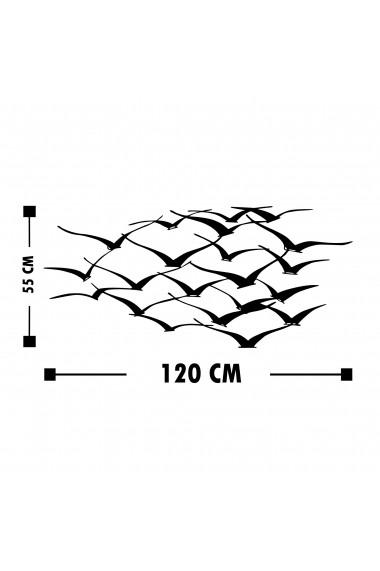 Accesoriu decorativ din metal Tanelorn 891TNL1826 negru