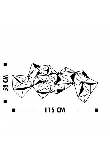 Accesoriu decorativ din metal Tanelorn 891TNL1824 negru