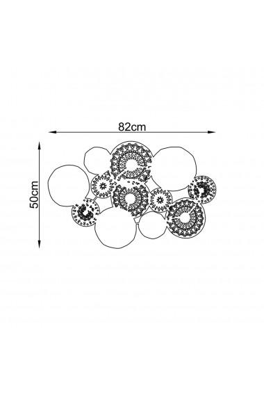 Accesoriu decorativ din metal Tanelorn 891TNL1845 multicolor
