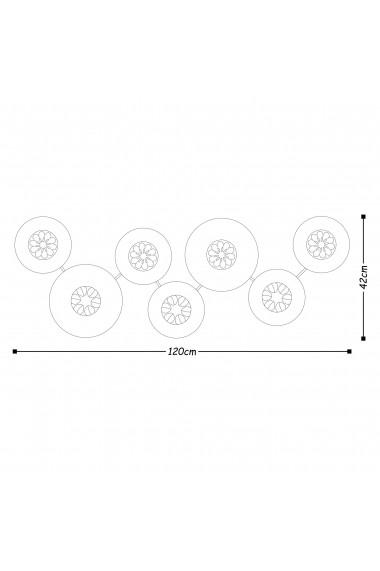 Accesoriu decorativ din metal Tanelorn 891TNL1807 multicolor