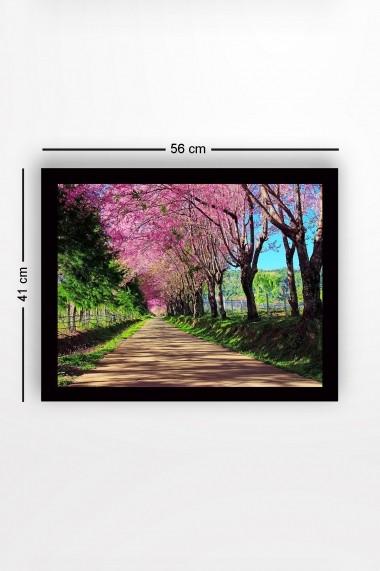Tablou cu rama din lemn Marvellous 537MRV2286 multicolor
