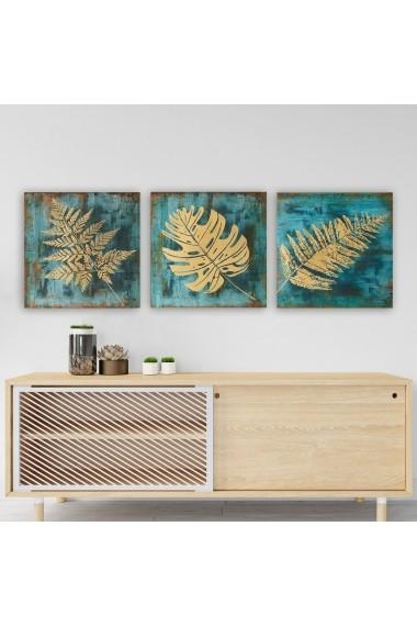 Tablou decorativ din panza (set 3 bucati) Remy 564RMY1107 multicolor