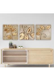 Tablou decorativ din panza (set 3 bucati) Remy 564RMY1110 multicolor