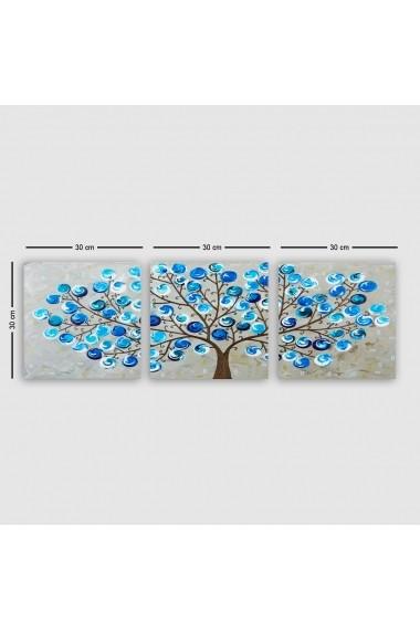 Tablou decorativ din panza (set 3 bucati) Remy 564RMY1120 multicolor