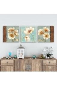 Tablou decorativ din panza (set 3 bucati) Remy 564RMY1204 multicolor