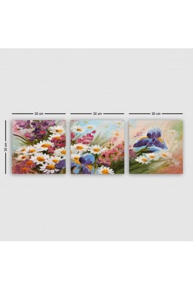 Tablou decorativ din panza (set 3 bucati) Remy 564RMY1240 multicolor