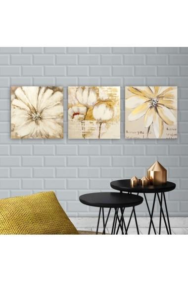 Tablou decorativ din panza (set 3 bucati) Remy 564RMY1247 multicolor