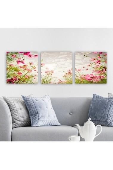 Tablou decorativ din panza (set 3 bucati) Remy 564RMY1258 multicolor