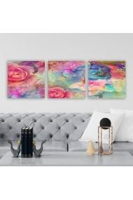 Tablou decorativ din panza (set 3 bucati) Remy 564RMY1270 multicolor