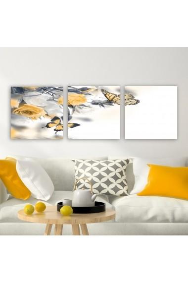 Tablou decorativ din panza (set 3 bucati) Remy 564RMY1288 multicolor