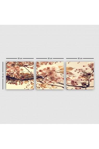 Tablou decorativ din panza (set 3 bucati) Remy 564RMY1304 multicolor