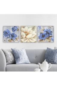Tablou decorativ din panza (set 3 bucati) Remy 564RMY1316 multicolor