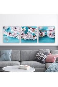 Tablou decorativ din panza (set 3 bucati) Remy 564RMY1320 multicolor