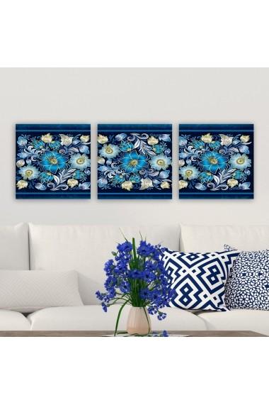 Tablou decorativ din panza (set 3 bucati) Remy 564RMY1332 multicolor