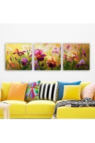 Tablou decorativ din panza (set 3 bucati) Remy 564RMY1346 multicolor