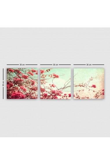 Tablou decorativ din panza (set 3 bucati) Remy 564RMY1362 multicolor