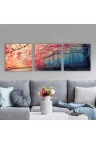 Tablou decorativ din panza (set 3 bucati) Remy 564RMY1368 multicolor