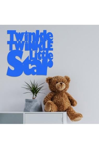 Accesoriu decorativ din lemn Skyler 899SKL1361 albastru