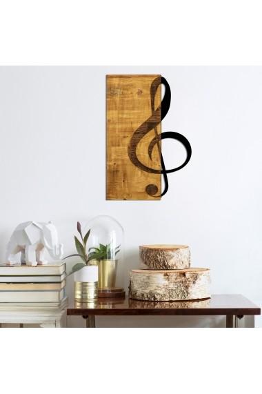 Accesoriu decorativ din lemn Skyler 899SKL1341 maro