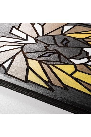 Accesoriu decorativ din lemn Skyler 899SKL1244 multicolor
