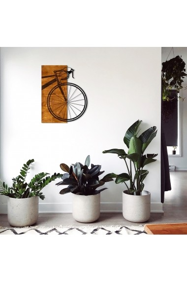 Accesoriu decorativ din lemn Skyler 899SKL1296 maro