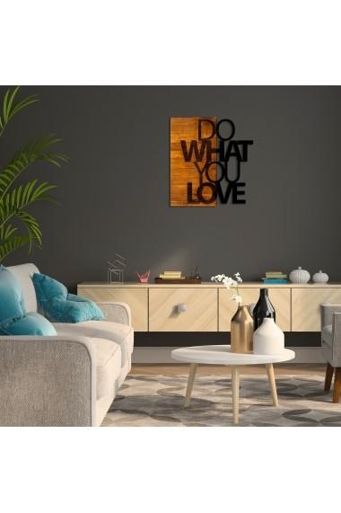 Accesoriu decorativ din lemn Skyler 899SKL1290 maro