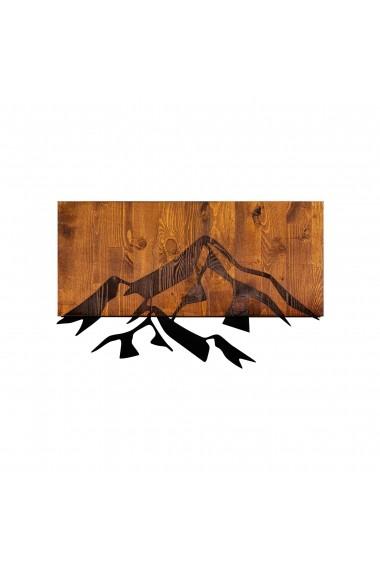 Accesoriu decorativ din lemn Skyler 899SKL1283 maro