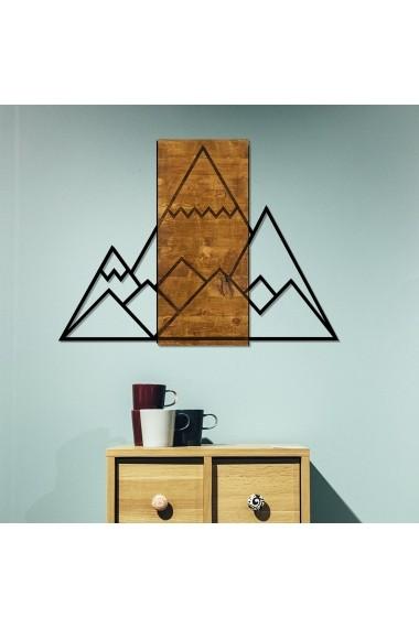 Accesoriu decorativ din lemn Skyler 899SKL1327 maro