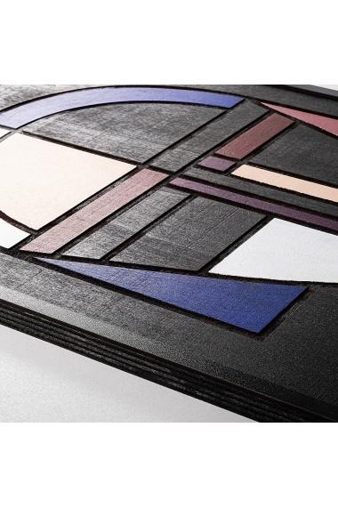 Accesoriu decorativ din lemn Skyler 899SKL1267 multicolor