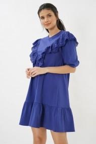 Rochie midi Clementine 580CMT2105 albastru