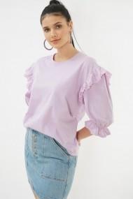 Bluza cu maneca scurta Clementine 580CMT1514 mov