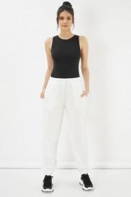 Pantaloni Clementine 580CMT1507 alb