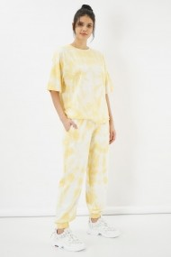 Pantaloni Clementine 580CMT1523 galben