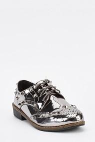 Pantofi 636478-259849 Argintiu